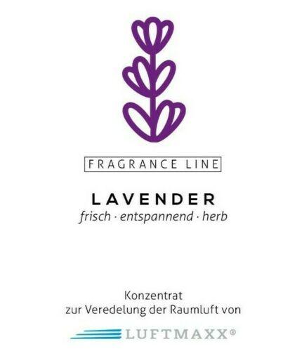 LUFTMAXX fragrance line LAVENDER - Lavendel - Frisch, herb, entspannend